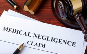 form sample medical negligence claims